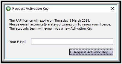 Activation Key Relate
